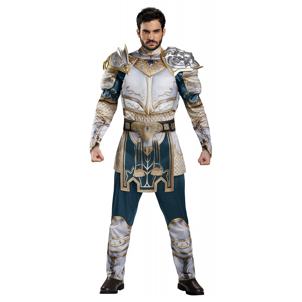 World of Warcraft King Lane Muscle Adult Halloween Costume