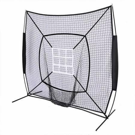 7 Baseball Train Net With Nine Target Frame Black Sleevelet