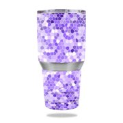 MightySkins Protective Vinyl Skin Decal for Ozark Trail 30 oz Tumbler wrap cover sticker skins Stained Glass