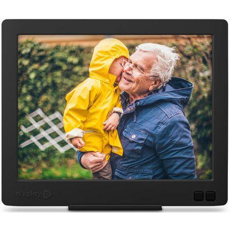 Nixplay Edge 8 Inch Wi Fi Cloud Digital Photo Frame With Hi Res Display