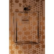 Marmont Hill Gold Spotted Chanel Print on Canvas