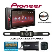 Pioneer AVH201EX Multimedia Receiver with Satellite Radio Tuner and License Plate Backup Camera