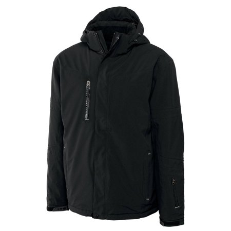 Weathertec Jacket (cutter & buck men's big-tall weathertec sanders jacket, black, 3x-large/tall )