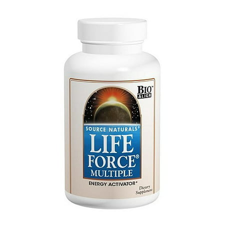 Source Naturals Life Force Multiple Capsules, 180 Ct (Ultra Source Of Life)