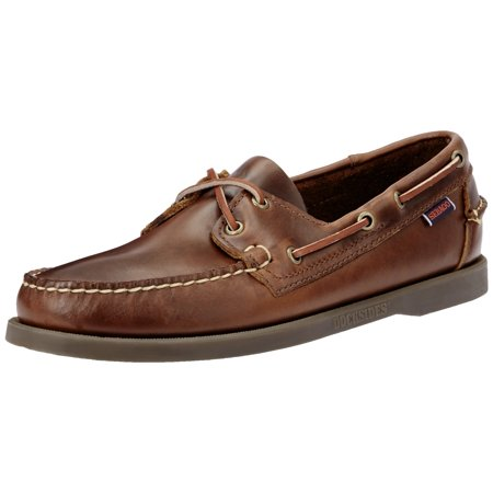 B72743 - DOCKSIDES 7.5 / Brown Oiled Waxy / M
