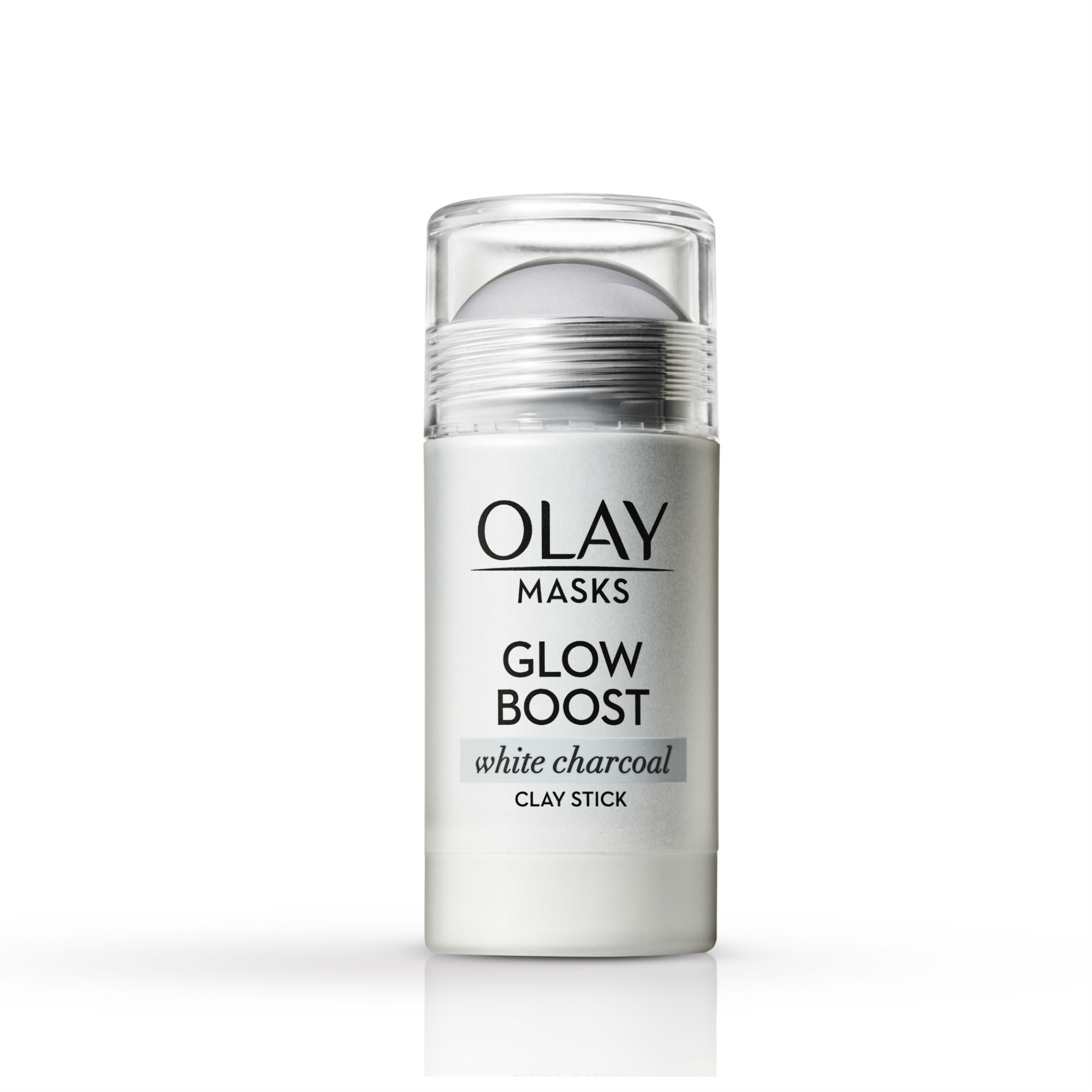 Olay Glow Boost White Charcoal Clay Face Mask Stick 1 7 oz  - Walmart com