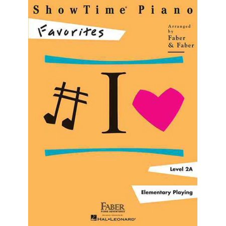Showtime Piano Favorites