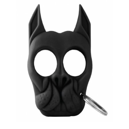 Bulldog Self-Defense Keychain in Black