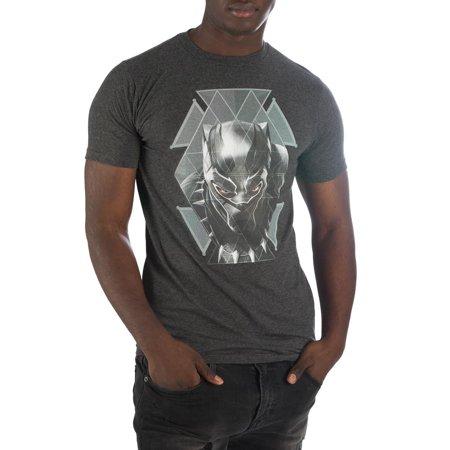 265c0045f9f0a Bioworld Marvel Adult Black Panther Geometric Short Sleeve T-shirt