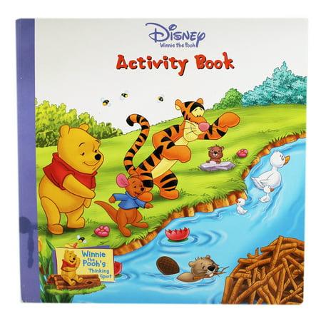 Disney's Winnie the Pooh & Friends Small Kids Activity Book (Winnie The Pooh And Friends Halloween Costumes)