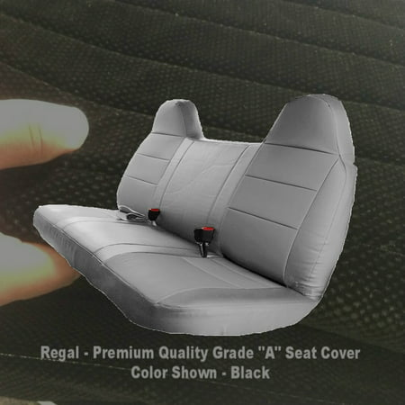 Stupendous F23 Ford F150 F250 F350 F450 F550 Year 1992 2010 Full Size Bench Seat Cover Molded Headrest Fitted Black Inzonedesignstudio Interior Chair Design Inzonedesignstudiocom