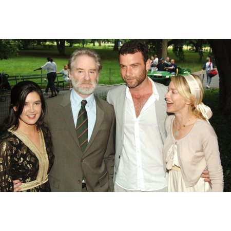 Phoebe Cates Kevin Kline Liev Schreiber Naomi Watts At Arrivals For The 2006 Public Theater Summer Gala & Opening Night Of Macbeth The Belvedere Castle In Central Park New York Ny June 28 2006 Photo