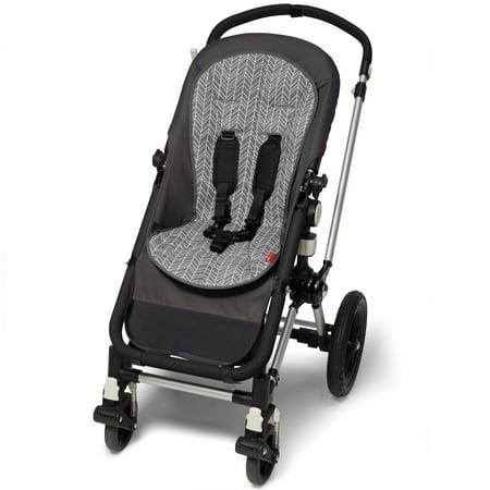 Skip Hop Stroll & Go Cool Touch Stroller Liner, Grey (Skip Hop Stroll And Go Phone Tether)