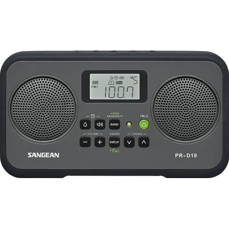 Sangean Pr D19 Clock Radio