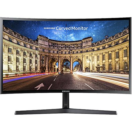 SAMSUNG 27u0022 Class Curved 1920x1080 VGA HDMI 60hz 4ms AMD FREESYNC HD LED Monitor - LC27F396FHNXZA