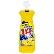Ajax Ultra Triple Action Liquid Dish Soap, Lemon - 14 fluid ounce