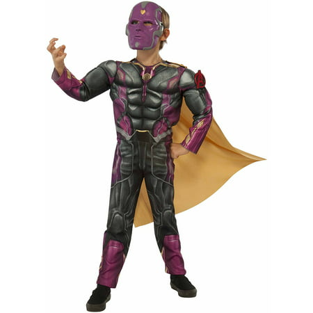 Post Halloween Deals (Avengers Vision Fiber Filled Child Halloween Dress Up / Halloween)