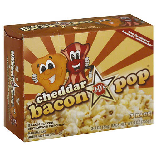 J&d's Cheddar Bacon Pop Bacon-flavor Mic