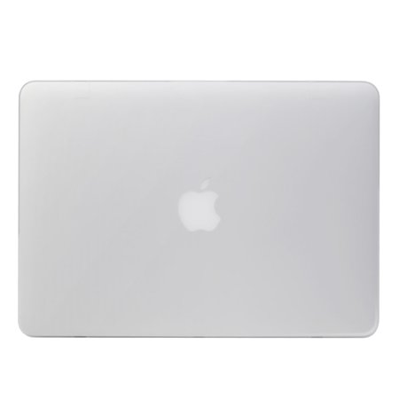 - GreatShield GLAZY Frosted Matte Slim Hard Shell Case Snap On Cover for Apple MacBook Pro 15 inch (Model A1286) - White