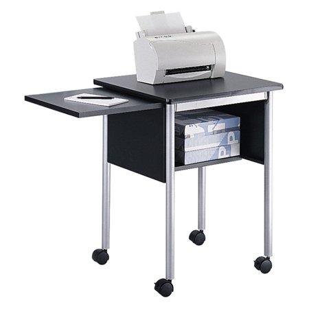 Slide Shelf Laminate - Safco Machine Stand with Slide-Away Shelf