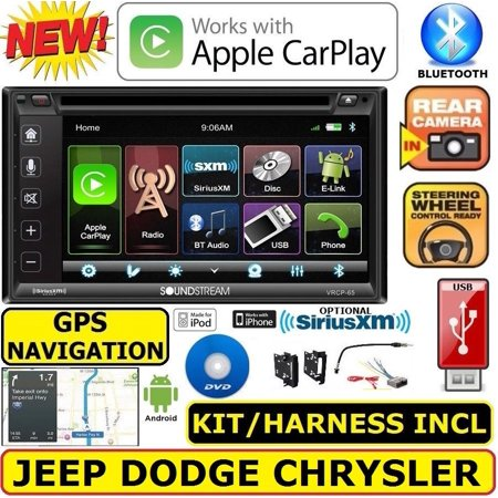 CHRYSLER JEEP DODGE GPS NAVIGATION SYSTEM BLUETOOTH/USB/EQ CAR RADIO STEREO (Chrysler Car Stereos)