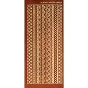 Dazzles Stickers-Jewel Borders-Copper
