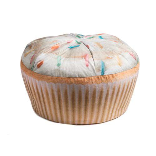 Wow Works Kid's Cupcake Bean Bag Chair
