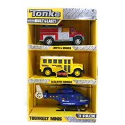 Tonka Toughest Minis Lights & Sounds 3 Pack #2