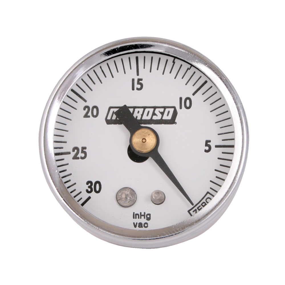Vacuum Gauge 1.5 Dia/0-30 In Replacement Auto Part, Easy to Install