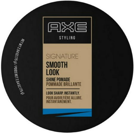 Smooth Shine Pomade (AXE Styling Smooth Look Shine Pomade 2.64 oz (Pack of 2))