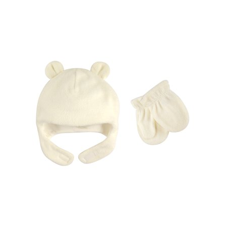 Fleece Baby Patterns - Luvable Friends Baby Unisex Fleece Hat & Mittens 2pc Set