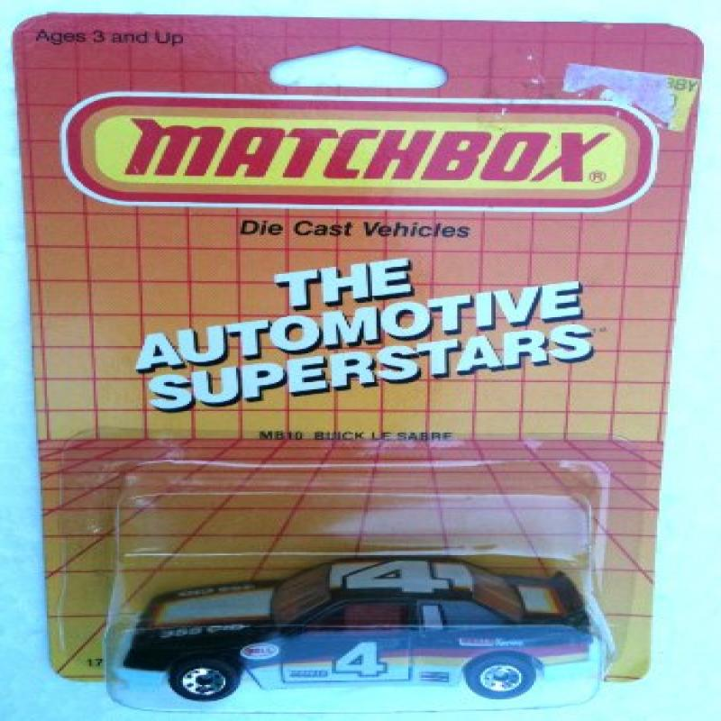 1987 Matchbox MB10 BUICK LE SABRE Automotive Superstars Series (1:64 Diecast Car) by