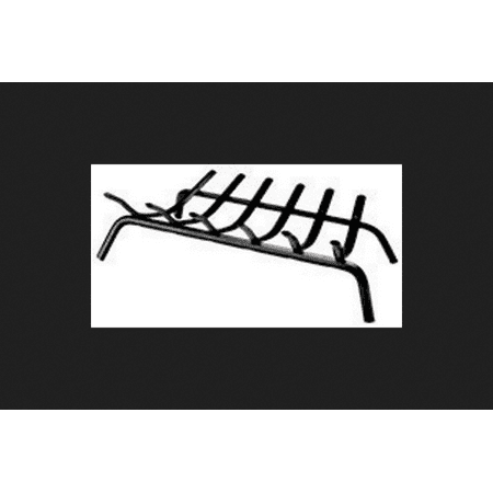 Lynx Painted Steel Fireplace Grate Indoor and Outdoor ()