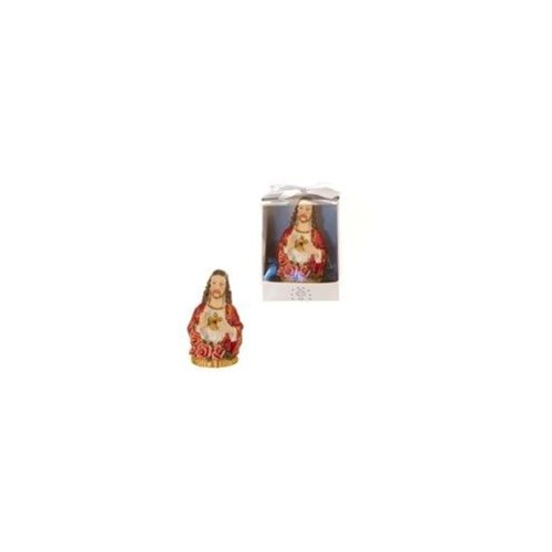 DDI Sacred Heart Jesus Statue Poly Resin (48 Units Included)