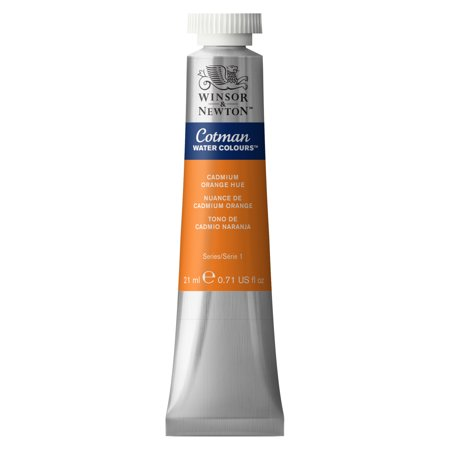 Winsor & Newton Cotman Watercolor, 21ml Tube, Cadmium Orange Hue