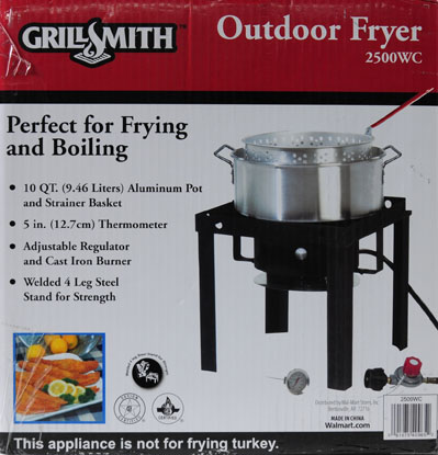 grillsmith 10 qt fish fryer u0026 outdoor cooker image 2