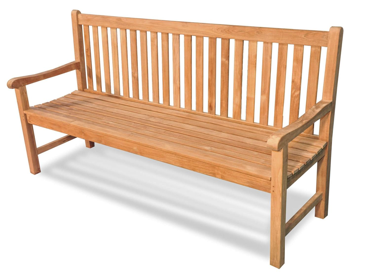 Remarkable 70 Natural Teak Outdoor Patio Block Island Wooden Bench Onthecornerstone Fun Painted Chair Ideas Images Onthecornerstoneorg