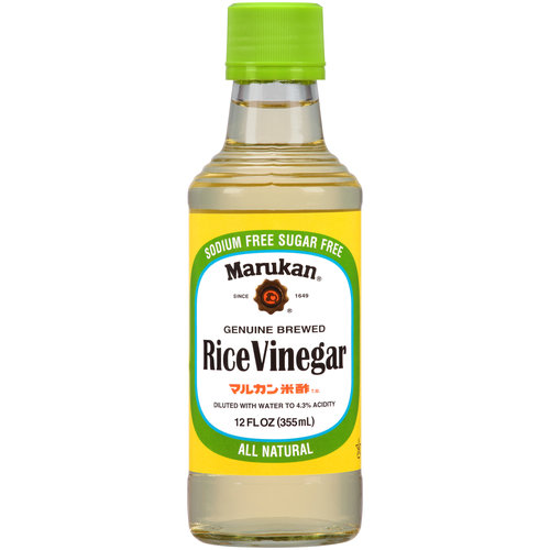 Marukan Genuine Brewed Rice Vinegar, 12 fl oz