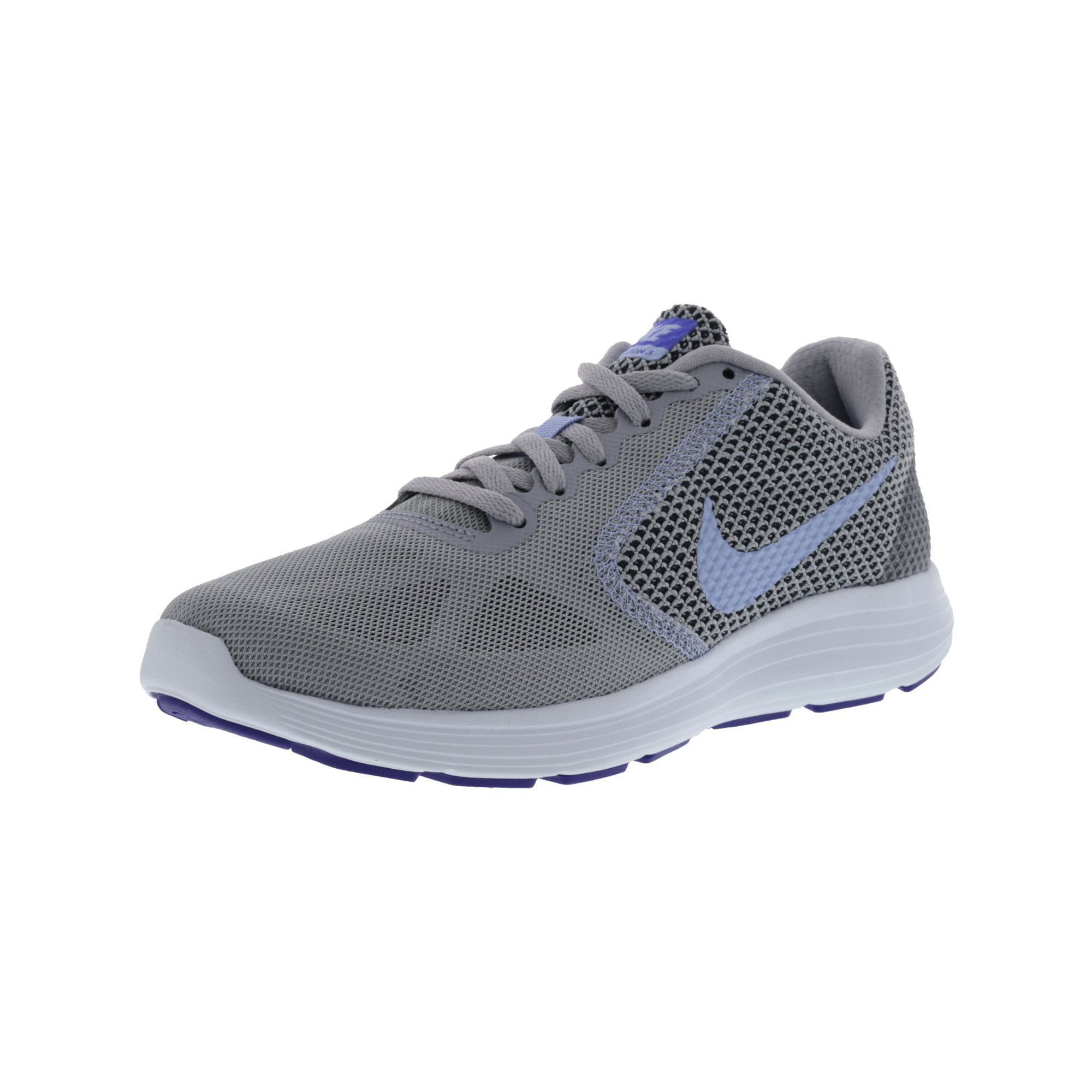 Denso gris Accesorios  Nike Women's Revolution 3 Wolf Grey / Aluminum Black Ankle-High Fabric Running  Shoe - 8M | Walmart Canada