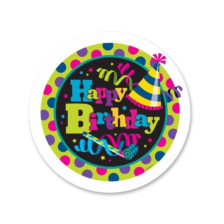 Happy Birthday Hats Edible Icing Image Cake Decoration Topper -1/4 Sheet