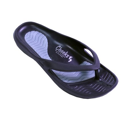 0fbd42f041b9b Tony Little - CHEEKS HEALTH SANDALS BY TONY LITTLE SPORT OR EXERCISE BLACK  WOMEN S 10 - Walmart.com