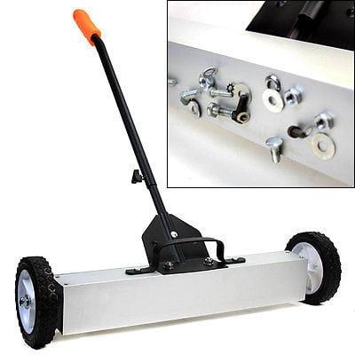 """36"""" Magnetic Push Sweeper Metal Steel Pick Up Sweeping Floor Tool Broom Magnet by"""