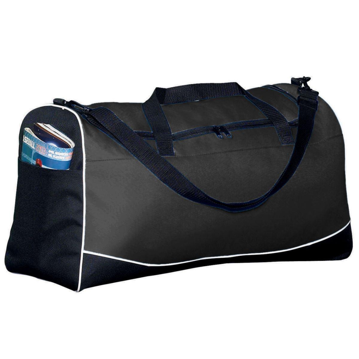 Augusta Large Tri-Color Sport Bag Bk/Bk/Wh Os - image 1 de 1