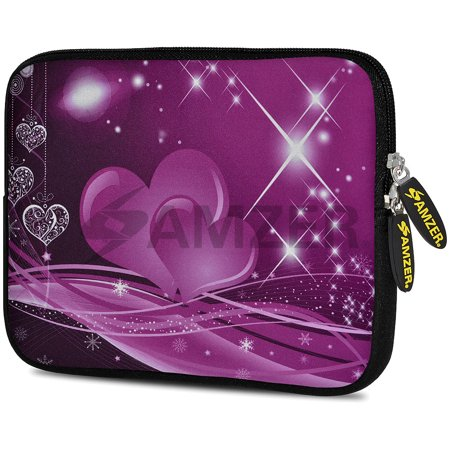 Shine Pouch - Universal 7.75 Inch Soft Neoprene Sleeve Case Pouch for Tablet, eBook, Kindle - Love Shines