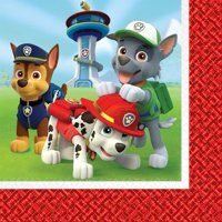 Paw Patrol Party Paper Lunch Napkins, 16ct