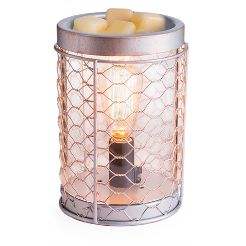 Candle Warmers Etc. Chicken Wire Edison Illumination Fragrance Warmer