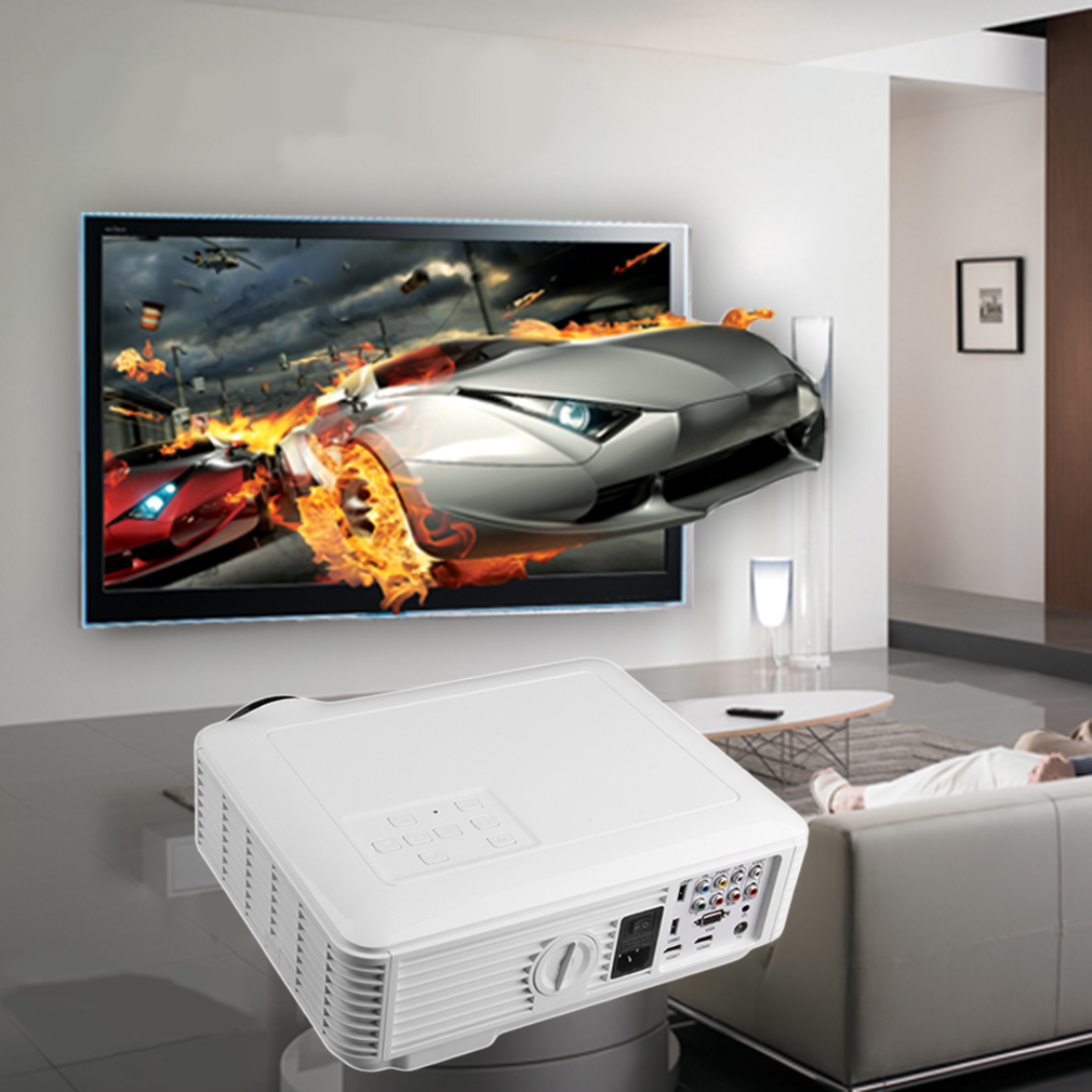 3D 1080P Projector Home Theater Cinema LED/LCD HDMI VGA A...