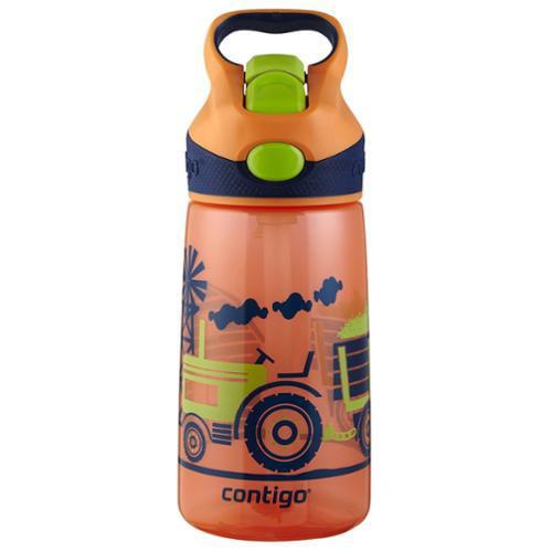 Contigo Kids 14oz Water Bottle Orange