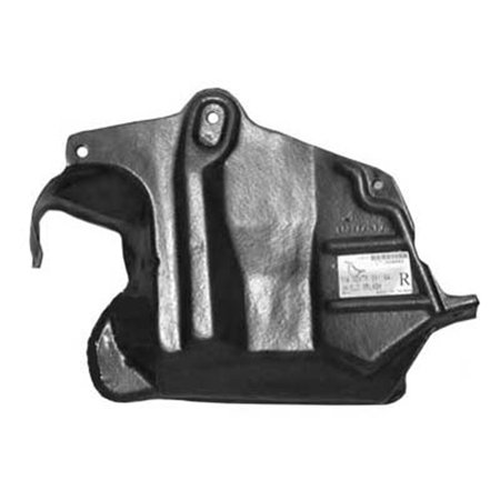 - NI1228102 Front Right Lower Engine Cover for Nissan 200SX, Sentra