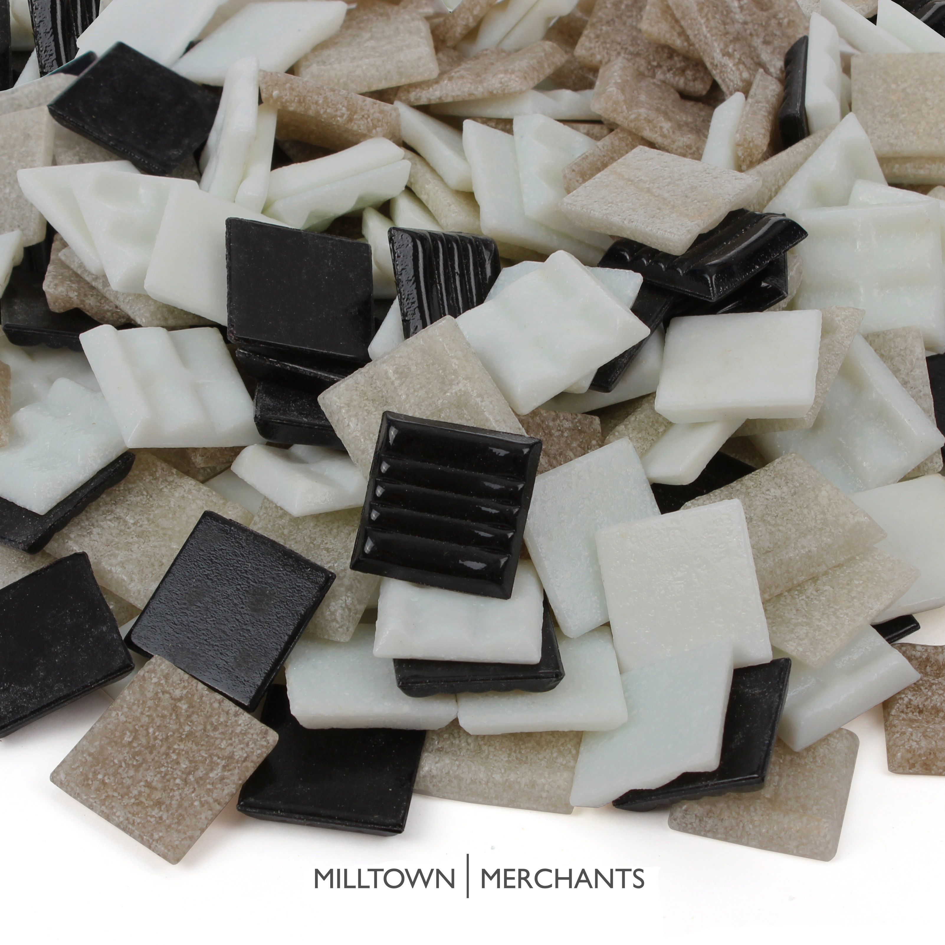 Milltown Merchants 3/4 Inch (20mm) Venetian Mosaic Tile - Bulk Blend Mosaic Tiles - Tile Assortment For Backsplash, Murals, and Mosaics